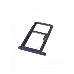 Tiroir de carte sim et carte SD Bleu ORIGINAL - HUAWEI P8 Lite 2017