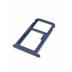 Tiroir de carte sim et carte SD Bleu ORIGINAL - HUAWEI P10
