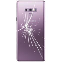 [Réparation] Vitre Arrière ORIGINALE Mauve Orchidée - SAMSUNG Galaxy Note9 / SM-N960F/DS