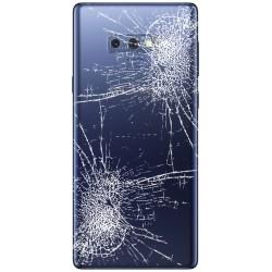 [Réparation] Vitre Arrière ORIGINALE Bleu Cobalt - SAMSUNG Galaxy Note9 / SM-N960F/DS