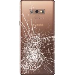 [Réparation] Vitre Arrière ORIGINALE Marron - SAMSUNG Galaxy Note9 / SM-N960F/DS