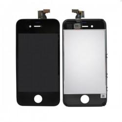 Bloc Avant Noir Compatible - iPhone 4S
