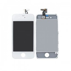 Bloc Avant Blanche Compatible - iPhone 4S