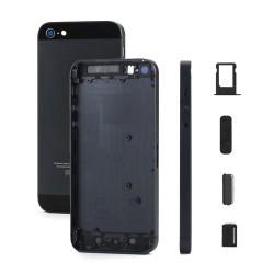 Châssis / Coque Arrière Noire - iPhone 5