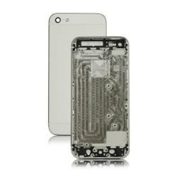 Châssis / Coque Arrière Argent / Blanc - iPhone 5