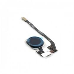 Nappe de bouton HOME Noir Complète + Touch ID ORIGINAL - iPhone 5S / SE