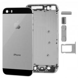 Châssis / Coque Arrière Noire - iPhone 5S