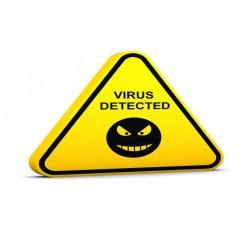Nettoyage / Désinfection des Logiciels Malveillants et Virus