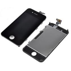 [PACK] Bloc Avant ORIGINAL Noir + Vitre Arrière Noire - iPhone 4S