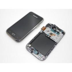 Bloc Avant Blanc ORIGINAL Noir Contour Gris - SAMSUNG Galaxy S i9000