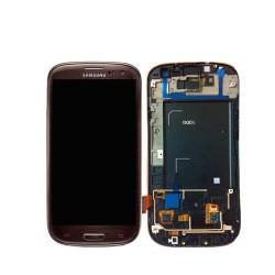 Bloc Avant ORIGINAL Marron - SAMSUNG Galaxy S3 i9305