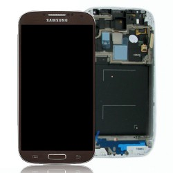 Bloc Avant ORIGINAL Marron - SAMSUNG Galaxy S4 LTE i9506