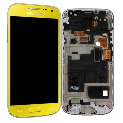 Bloc Avant ORIGINAL Jaune - SAMSUNG Galaxy S4 Mini - i9195