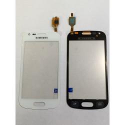 Vitre Tactile ORIGINALE Blanche + Adhésifs - SAMSUNG Galaxy TREND - S7560