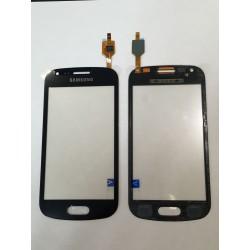 Vitre Tactile ORIGINALE Noire + Adhésifs - SAMSUNG Galaxy TREND - S7560