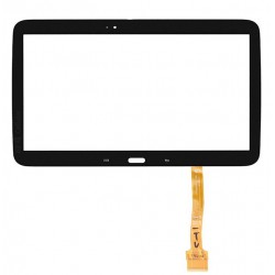 Vitre Tactile Noire + Adhésifs - SAMSUNG Galaxy TAB 3 10.1 - P5210