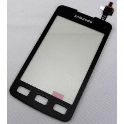 Vitre Tactile ORIGINALE Noire + Adhésifs - SAMSUNG Galaxy XCover - S5690