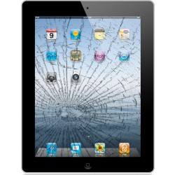 [Réparation] Vitre Tactile ORIGINALE Noire + Adhésifs - iPad Air