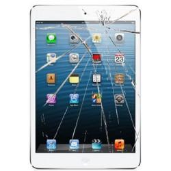 [Réparation] Vitre Tactile ORIGINALE Blanche + Adhésifs - iPad Mini