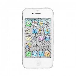 [Réparation] Vitre Tactile Blanche + Bouton HOME + Adhésifs - iPhone 3GS