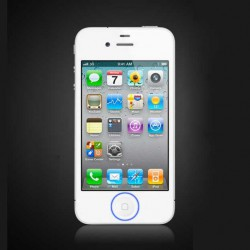 [Réparation] Bouton HOME Complet Blanc - iPhone 4S