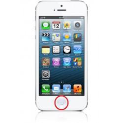 [Réparation] Bouton HOME Complet ORIGINAL Blanc - iPhone 5