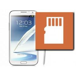 [Réparation] Lecteur Carte SIM / Carte Mémoire ORIGINAL - SAMSUNG Galaxy NOTE 2 LTE - N7105
