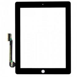 Vitre Tactile ORIGINALE Noire + Adhésifs - iPad 3