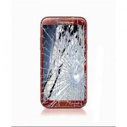 [Réparation] Bloc Avant ORIGINAL Rouge - SAMSUNG Galaxy NOTE 2 LTE - N7105