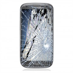 [Réparation] Bloc Avant ORIGINAL Gris - SAMSUNG Galaxy S3 - i9305