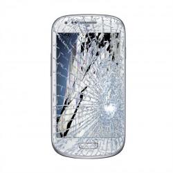[Réparation] Bloc Avant ORIGINAL Blanc - SAMSUNG Galaxy S3 Mini - i8190