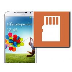 [Réparation] Lecteur Carte SIM / Carte Mémoire ORIGINAL - SAMSUNG Galaxy S4 - i9505 / i9515
