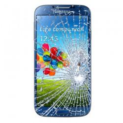 [Réparation] Bloc Avant ORIGINAL Bleu - SAMSUNG Galaxy S4 - i9505 / i9515