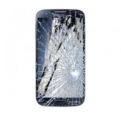 [Réparation] Bloc Avant ORIGINAL Noir / Bleu - SAMSUNG Galaxy S4 - i9505 / i9515