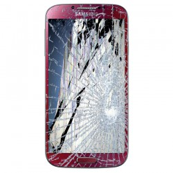 [Réparation] Bloc Avant ORIGINAL Rouge - SAMSUNG Galaxy S4 - i9505 / i9515