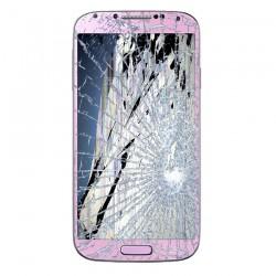 [Réparation] Bloc Avant ORIGINAL Rose - SAMSUNG Galaxy S4 - i9505 / i9515