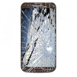[Réparation] Bloc Avant ORIGINAL Marron - SAMSUNG Galaxy S4 LTE - i9506