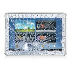 [Réparation] Vitre Tactile Blanche - SAMSUNG Galaxy TAB 2 10.1 - P5100 / P5110