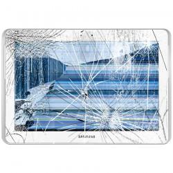[Réparation] Bloc Avant ORIGINAL Blanc - SAMSUNG Galaxy TAB 2 10.1 - P5100 / P5110