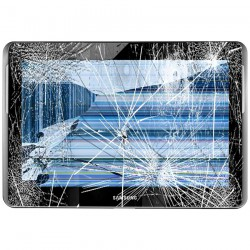[Réparation] Bloc Avant ORIGINAL Noir - SAMSUNG Galaxy TAB 2 10.1 - P5100 / P5110