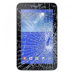 Forfait Réparation Vitre Tactile Noire + Adhésifs - SAMSUNG Galaxy TAB 3 7.0 T210