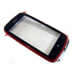 Bloc Tactile ORIGINAL Rouge - NOKIA Lumia 610