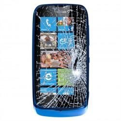[Réparation] Bloc Tactile ORIGINAL Bleu - NOKIA Lumia 610