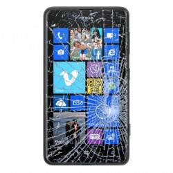[Réparation] Vitre Tactile ORIGINALE Noire - NOKIA Lumia 625