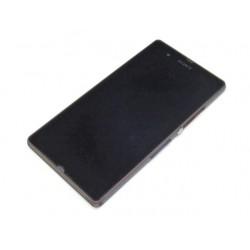 Bloc Avant ORIGINAL Violet - SONY Xperia Z - LT36 - C6602 / C6603