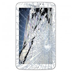 [Réparation] Bloc Avant ORIGINAL Blanc - SAMSUNG Galaxy TAB 3 7.0 - T210