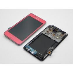 Bloc Avant Rose ORIGINAL - SAMSUNG Galaxy S2 i9100 / i9100P