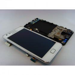 Bloc Avant Blanc ORIGINAL - SAMSUNG Galaxy S2 i9100 / i9100P