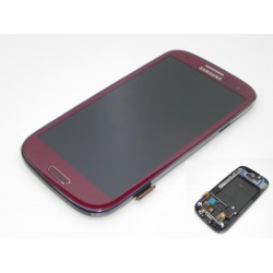 Bloc Avant Rouge ORIGINAL - SAMSUNG Galaxy S3 i9300