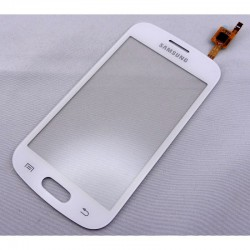 Vitre Tactile ORIGINALE Blanche + Adhésifs - SAMSUNG Galaxy TREND LITE - S7390